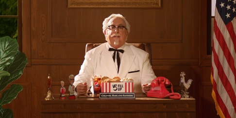 kfc colonel adweek screenchow