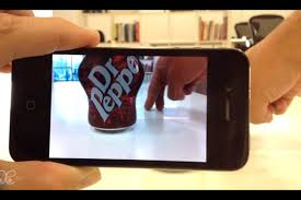 dr. pepper AR screenchow