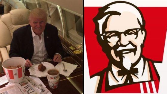 KFC Trump Twitter nuclear war mic.com screenchow