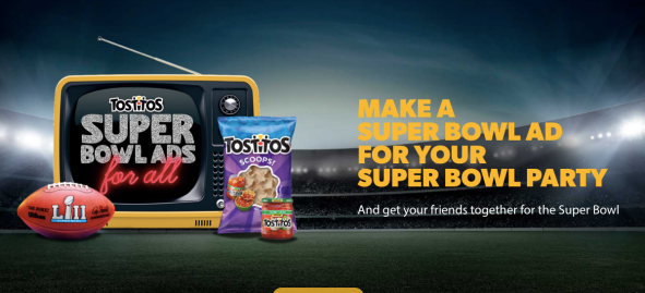 tostitos superbowl ad tostistos.com screenchow