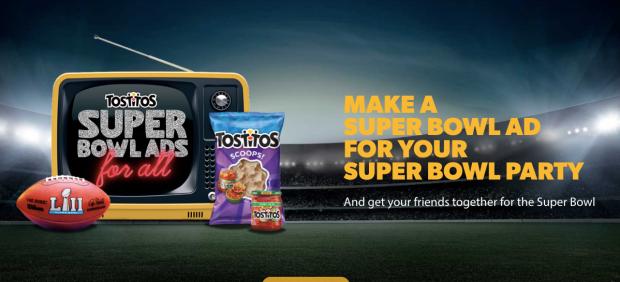 tostitos superbowl ad tostistos.com screenchow