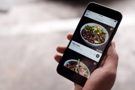 ubereats screenchow the spoon