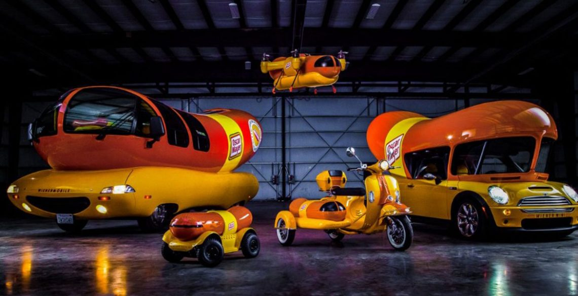 Oscar Mayer wiener fleet