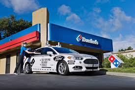 dominos ford self driving