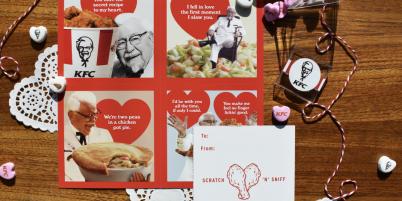 KFC Valentines Day The Drum Screenchow