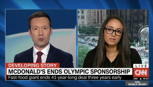 Mcdonalds olympics partnership screenchow