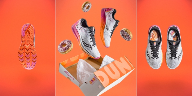 dunkin donuts running shoes