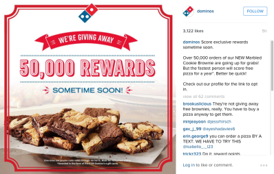 dominos-instagram