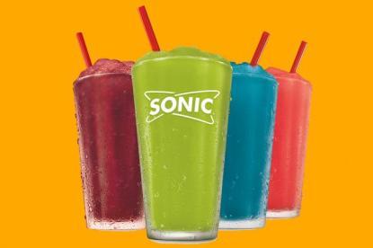 sonic slushies