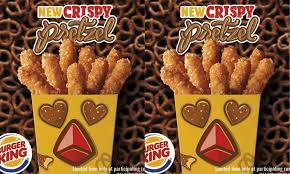 chicken pretzel fries