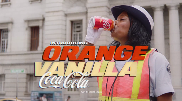 Coke channels a 1970s-era car chase for new Orange Vanilla
